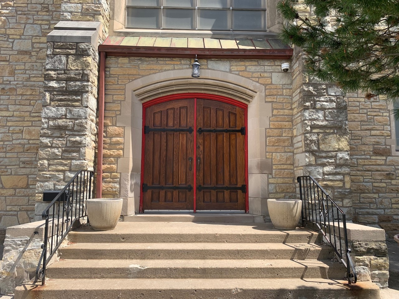 St Andrew's Main Entrance